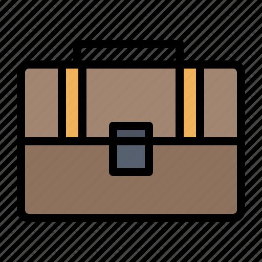 bag, case, hand, suitcase icon