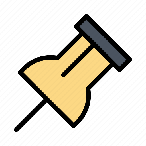 paper, pin, reminder icon
