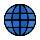 globe, ineternet, map, world