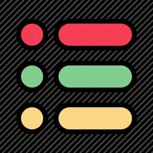 list, task, text, write icon