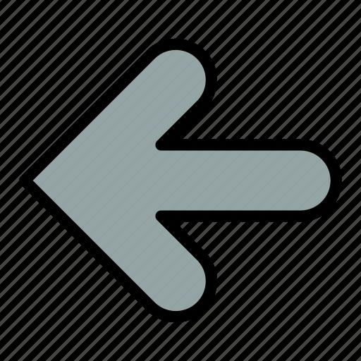 arrow, arrows, back, point icon