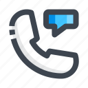 call, chat, customer support, message, sevice icon