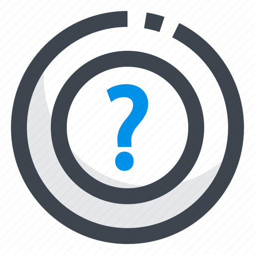 faq, help, query, question, support icon
