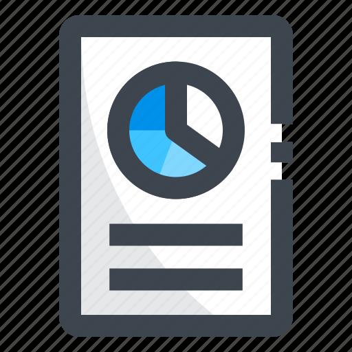 dashboard, finance, powerpoint, presentation, report, statistics icon