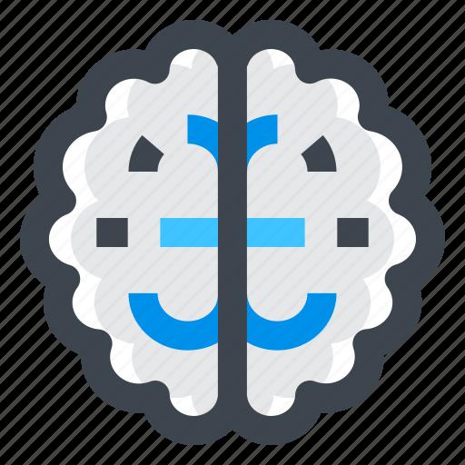 brain, creative, idea, knowledge, mind, solution icon