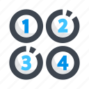 count, keypad, menu, number icon