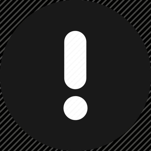 alarm, alert, attention, caution, danger, error icon