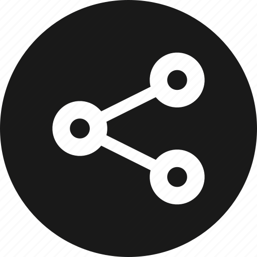 connection, media, network, share, social icon