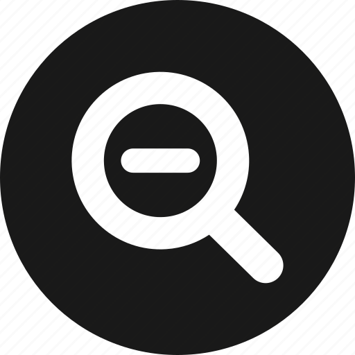 Glass, magnifying, out, zoom icon - Download on Iconfinder