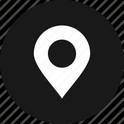 gps, location, map, navigation, pin icon