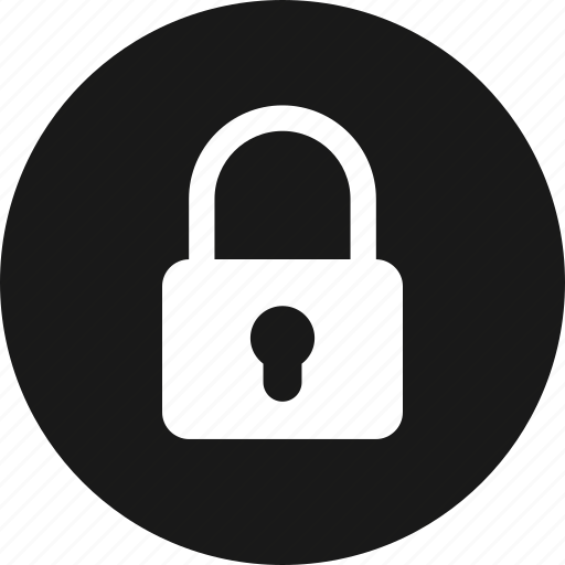 key, lock, locked, password, private, safe, secure icon