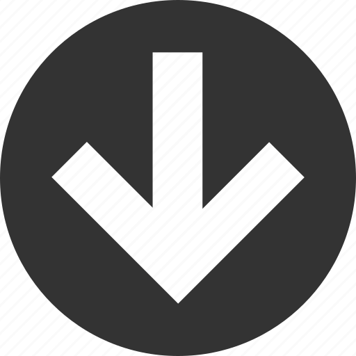 arrow, arrows, circle, circular, direction, down, download, left, right, round, shape, up icon