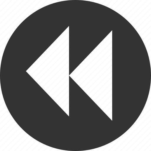 arrow, arrows, back, backward, left, previous, rewind icon