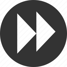 arrow, arrows, circle, circular, direction, down, fast, forward, go, last, left, next, right, round, shape, up icon