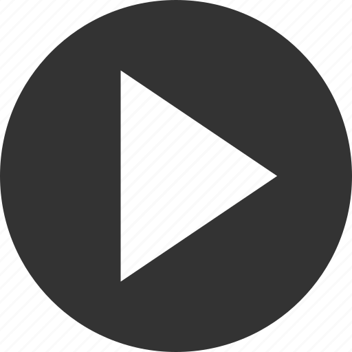 arrow, audio, circle, circular, control, film, media, movie, multimedia, music, play, player, round, shape, sound, speaker, video, volume icon