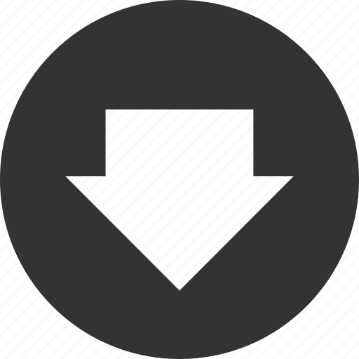 arrow, arrows, circle, circular, direction, document, down, download, left, right, round, shape, up, upload icon