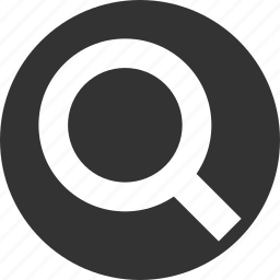 circle, circular, explore, explorer, find, glass, magnifier, magnifying, research, round, search, view, zoom icon