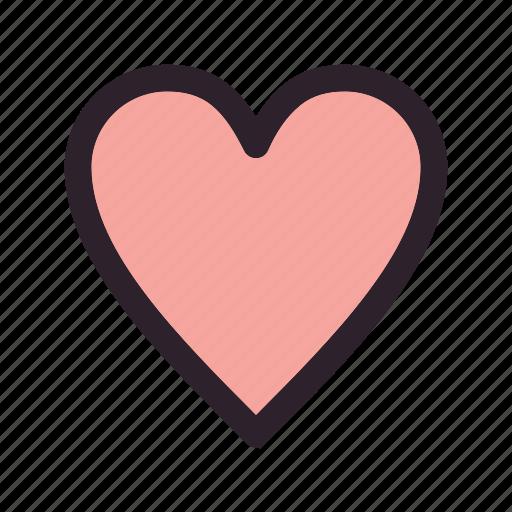 health, heart, love icon