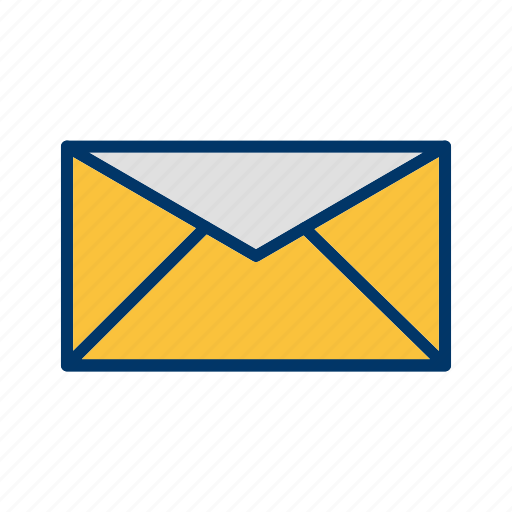 envelope, inbox, message icon
