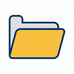 communication, document, file, folder icon
