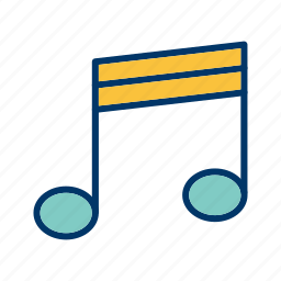 audio, instrument, media, multimedia, music, note, sound icon