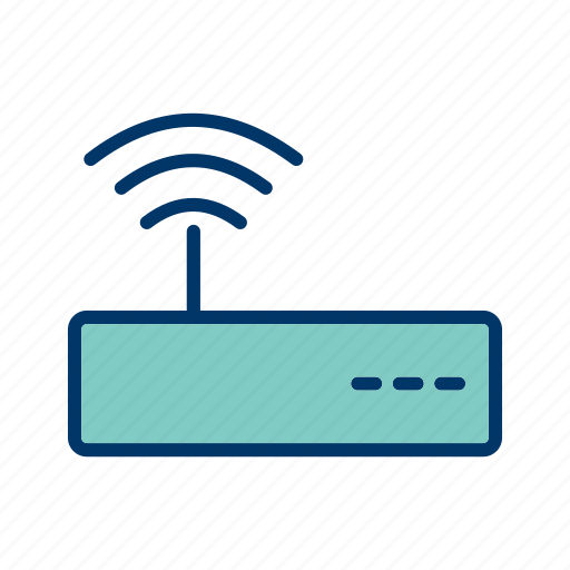 cool, graphic, podcast, router, signal, wifi icon
