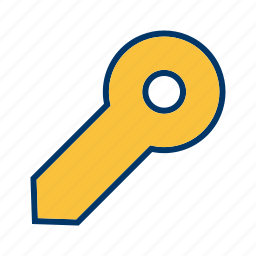 access, key, lock, password, protection, secure, unlock icon