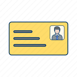 business, document, hand, id, man, pay, payment icon