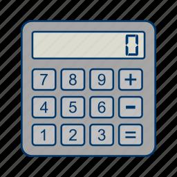calculation, calculator, math icon