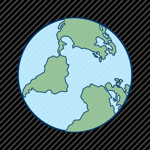 basic ui, earth, global, globe, world icon