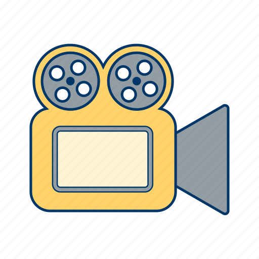 movie, multimedia, video, video camera icon