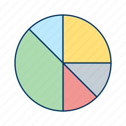 chart, data, diagram, graph, growth, pie, stats icon
