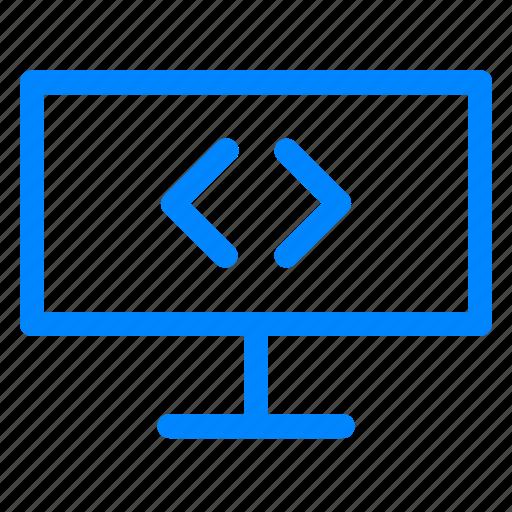 coding, design, html, programmer, ui, web, web design icon