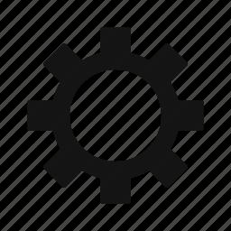 cog, cogwheel, configure, driving, gear, setting icon