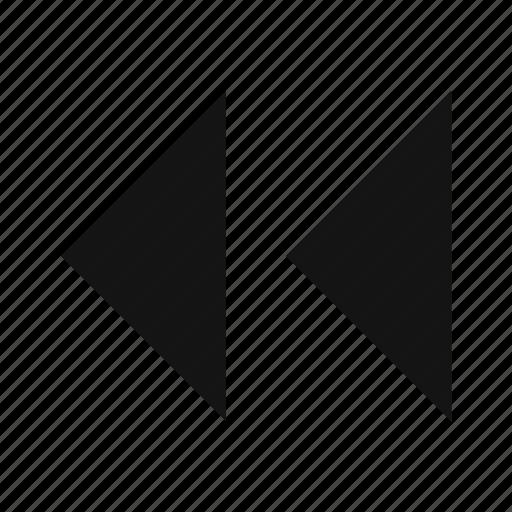 arrows, back arrows, backward arrows icon