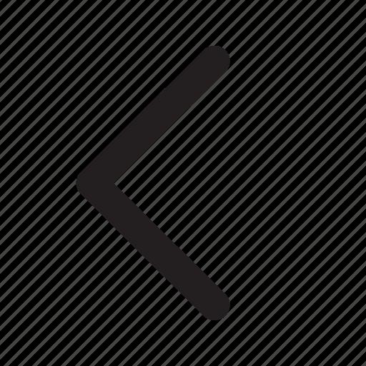 arrow, arrows, back, direction, left, move, ui icon
