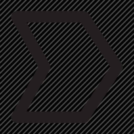 arrow, interface, label, tag, ui icon