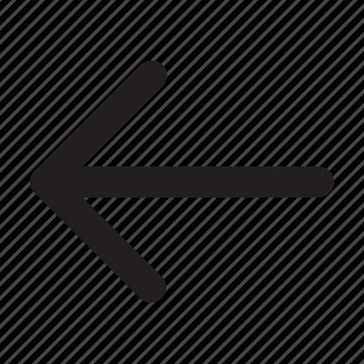 arrow, direction, left, navigation, pointer, ui icon