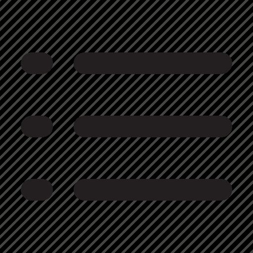 checklist, document, list, nested, ui icon
