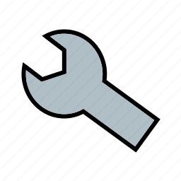 configure, interface, settings, tool, wrench icon