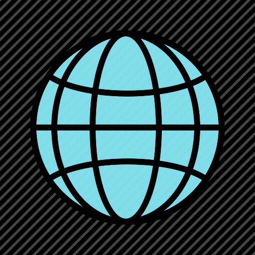 earth, globe, internet, world icon