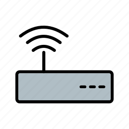 modem, signal, wifi, wifi router icon