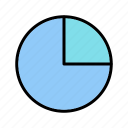 diagram, pie chart, statistics, stats icon