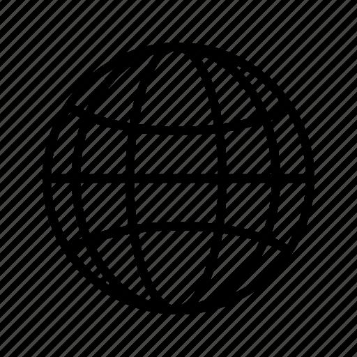 earth, global, globe, internet, map, planet, world icon