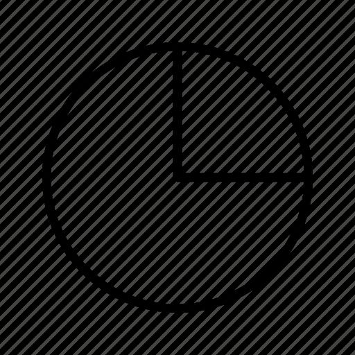 diagram, pie chart, statistics, stats icon
