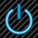 shutdown, power button, power icon