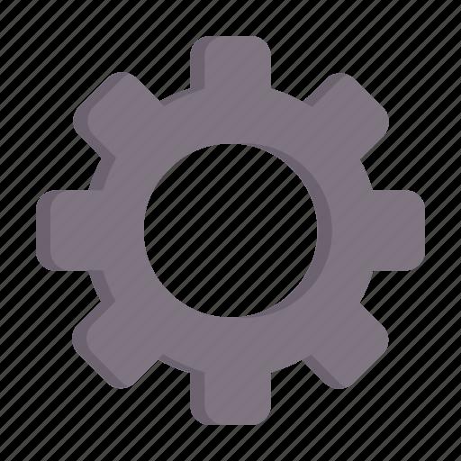 basic, configuration, gear, options, setting, settings, ui icon