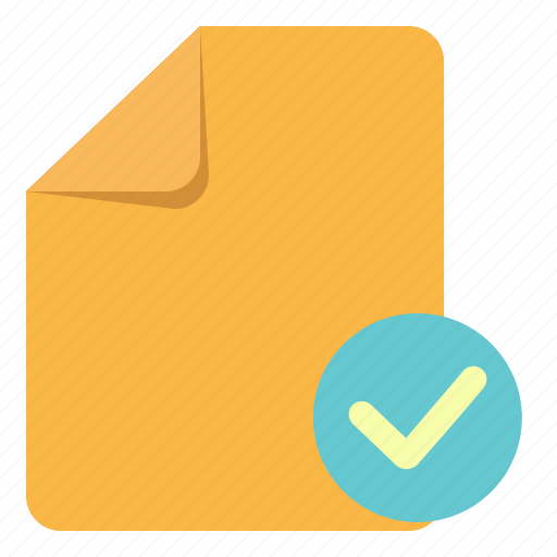 basic, check, document, note, ok, paper, ui icon