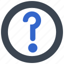 ask, help, question, support icon