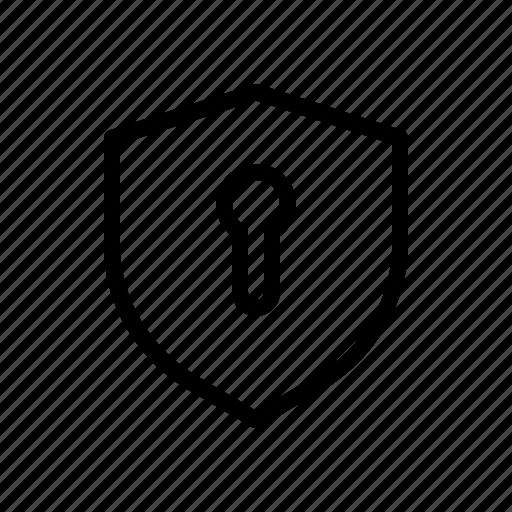 crist, emblem, lock, shield icon